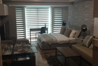 Studio The Manansala in Rockwell Makati Condo for Sale